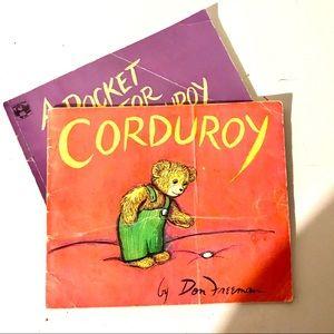 Other - Corduroy & A Pocket for Corduroy - Book Bundle